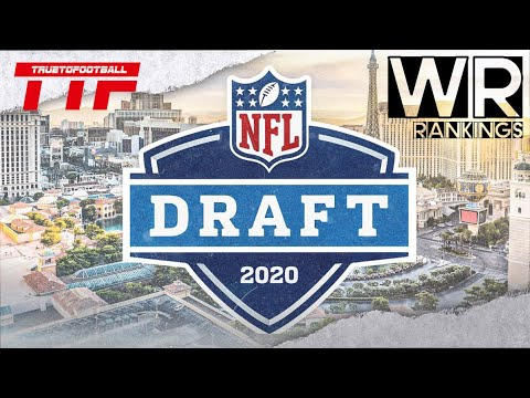 2020 NFL Draft WR Rankings with Highlights || ᴴᴰ