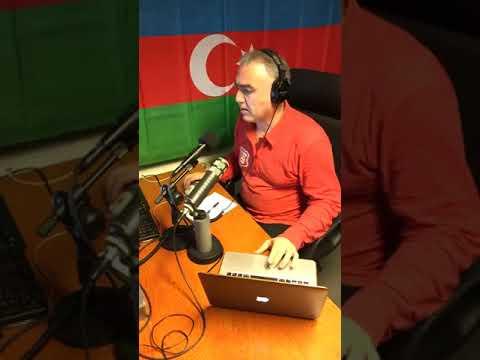 yashar heydari . Azarbaycan  sesi radiosundan bugün 23.10.2017
