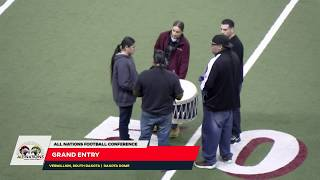 All Nations Football Conference   Grand Entry and Championship (Lower Brule Vs Crow Creek)