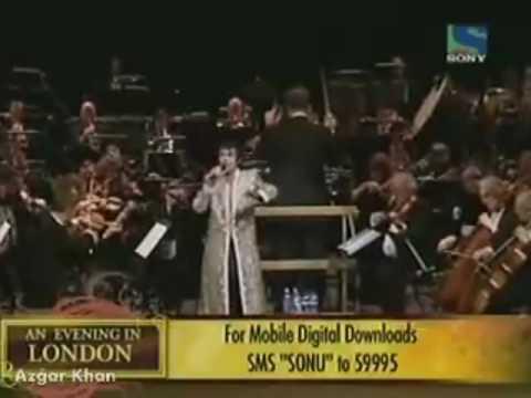 Sonu Nigam - Gulabi Aankhein Jo Teri Dekhi - Rafi Resurrected - An Evening In London
