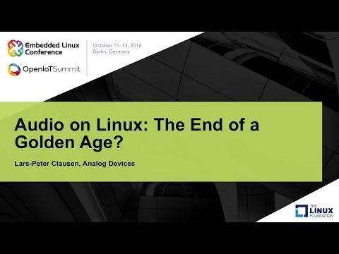Audio on Linux: The End of a Golden Age?