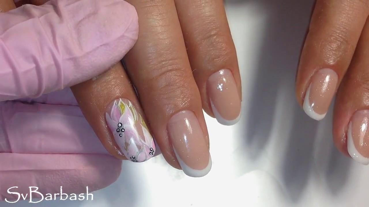 Зимний Дизайн На Короткие Ногти Фото
