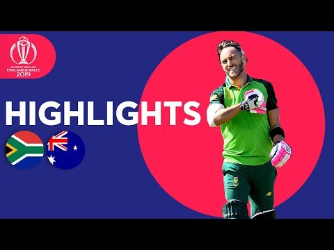 South Africa vs Australia - Match Highlights | ICC Cricket W