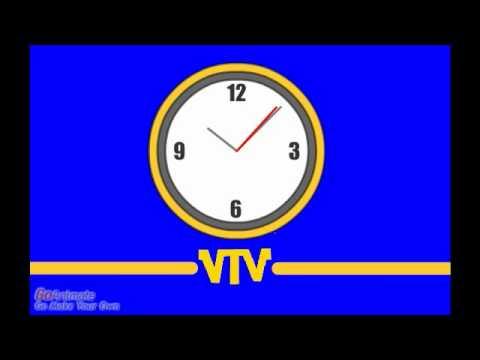 VTV Logo (w. Clock) (1981 - 1987)