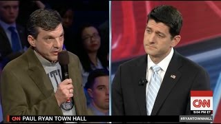 Paul Ryan Confronted by Cancer Patient Over Repeal of Obamacare