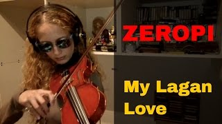 ZeroPi - My Lagan Love (Violin, Vermona Mono Lancet, Roland R-8M, TX802)
