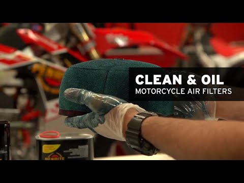 How to clean & oil your air filter - Penrite Motorcycle Tech Tips