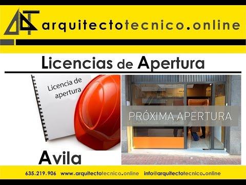 Licencias Apertura Ávila Licencia Ambiental Proyecto Local Ávila Precios Declaración Responsable