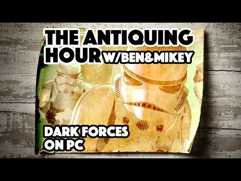 Star Wars: Dark Forces (1995) - The Antiquing Hour w/ Ben & Mikey