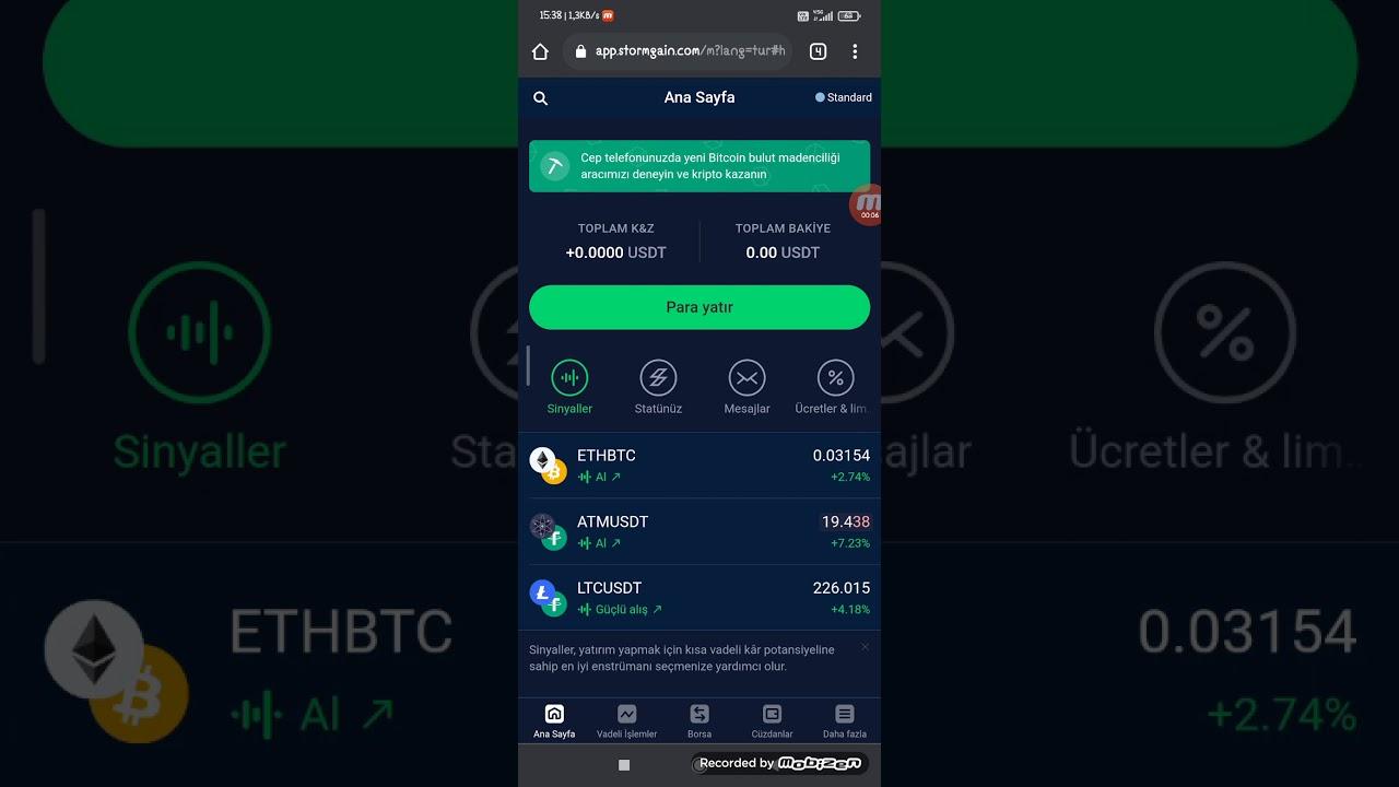 bitcoin madenciligi mobil)