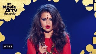 Selena Gomez Performs 'Come & Get It' | MTV Movie & TV Awards