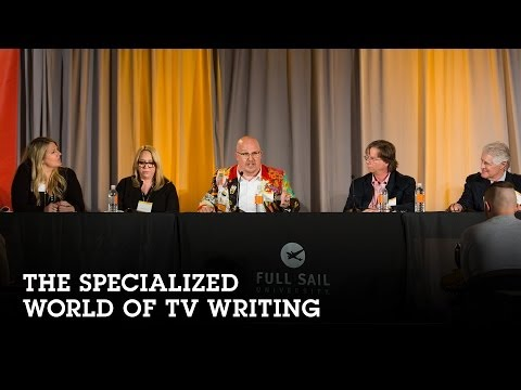 The Specialized World of TV Writing
