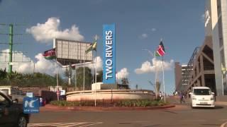 Chinese built largest mall in sub saharan Africa opened in Nairobi Kenya