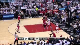Washington Wizards vs Toronto Raptors - Full Highlights   Game 2   April 21, 2015   NBA Playoffs