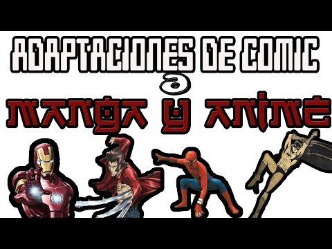 Critica al Bat Manga, Spiderman de Japon y Marvel Anime