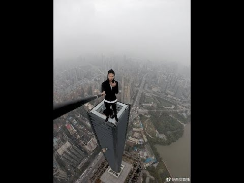 Wu Yongning Chinese Quot Rooftopper Quot Falls From 62 Storey