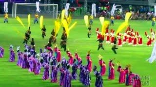 Tari Kolosal SMADA Jember @Pembukaan Stadion Jember Sport Garden