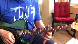 Joe Satriani - Thunder High On The Mountain intro slow