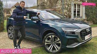 Essai détaillé Audi Q8 50 tdi - Le Vendeur Automobiles
