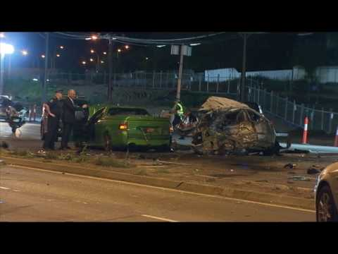 Car thieves in horrific Adelaide crash