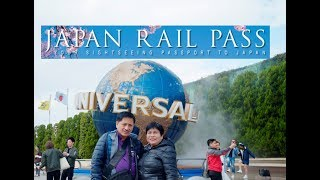 Trip to Japan Universal Studios for FREE Using J R  Pass