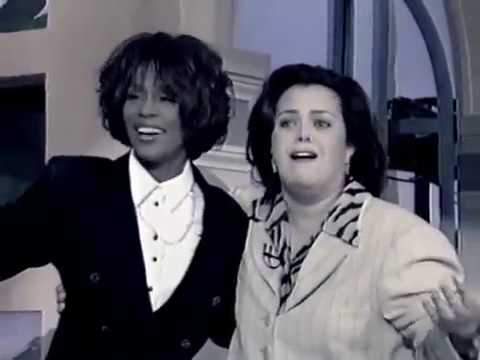 Whitney Houston appears on Rosie O'Donnell Show