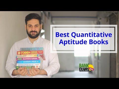5 Best Quantitative Aptitude Books for IBPS, SBI Exams