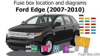 [SCHEMATICS_43NM]  Fuse box location and diagrams: Ford Edge (2007-2010) - YouTube | 2008 Ford Edge Limited Fuse Diagram |  | YouTube