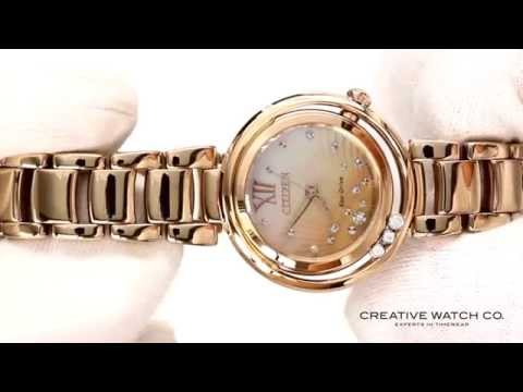 Hands On With The Women's Citizen Watch EM0323-5IN