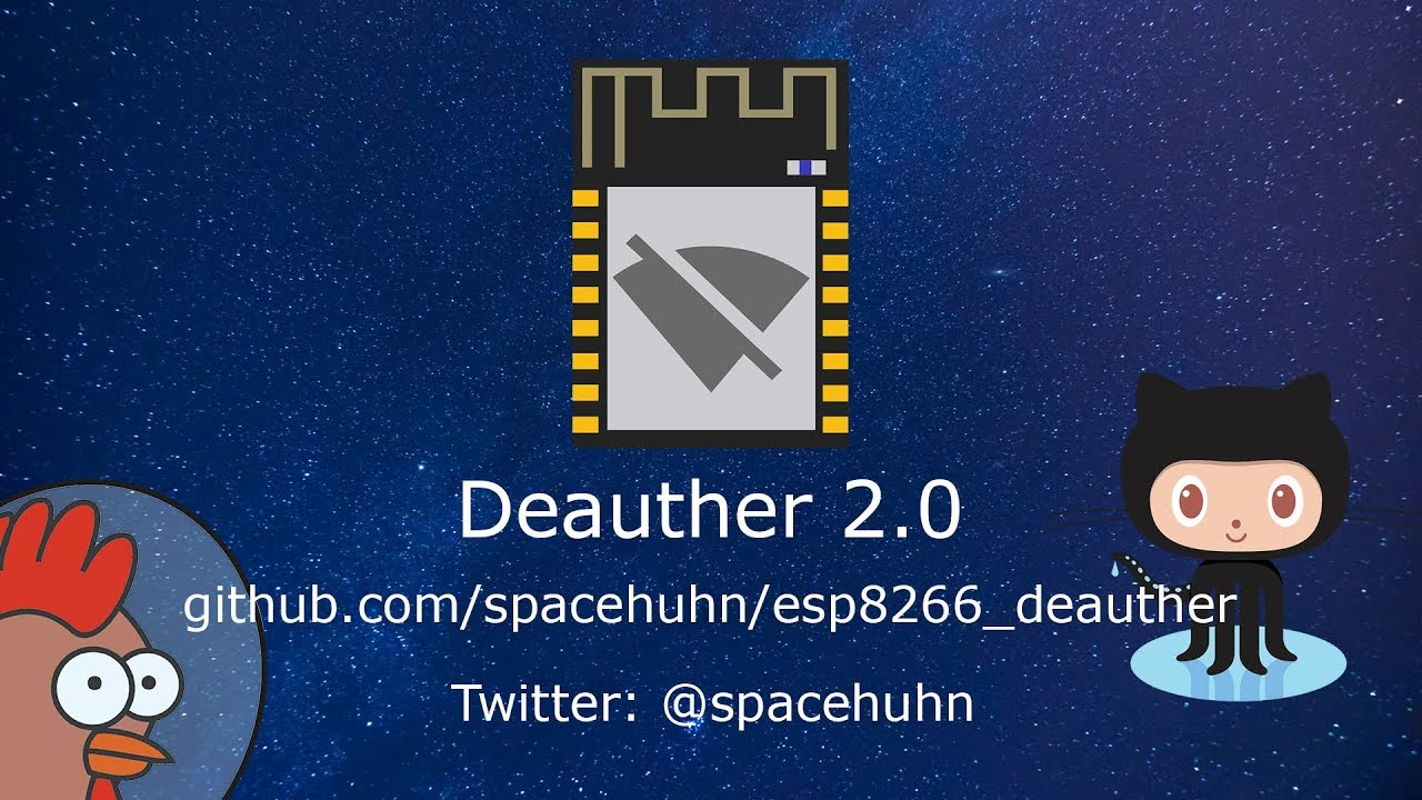 Deauther 2 0 Released! What's new?