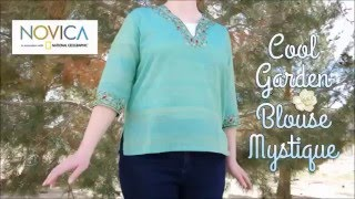 Novica Cool Garden Blouse Review