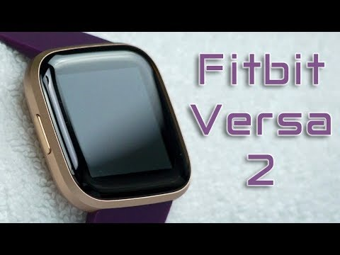 Fitbit Versa 2 - Waterproof Fitness Smartwatch