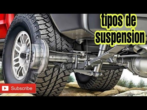 TIPOS DE SUSPENSION/RIGIDA/MACPHERSON /MULTILINK Y MAS
