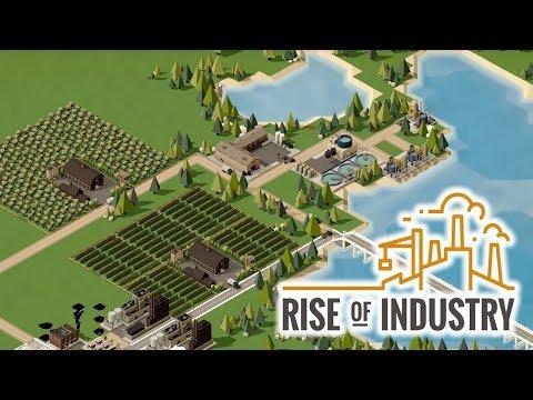 【実況】Rise of Industry - 色々な生産物を生産、加工、出荷して富を築く経営ゲーム。 Ep1