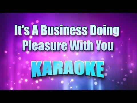 Tim McGraw - It's A Business Doing Pleasure With You (Karaoke & Lyrics)
