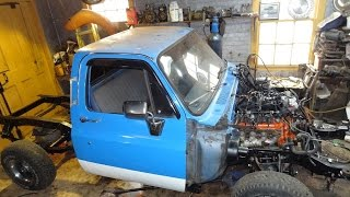 LS swap part 8  The new frame for our 84 C10