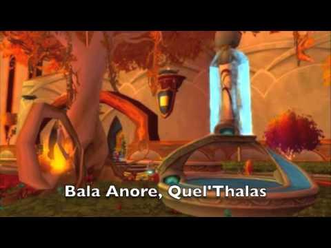 Belore Shala Diel with Thalassian subtitles