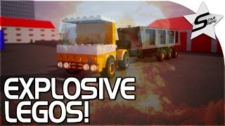 Explosive LEGO Open World Game! - Brick Rigs Gameplay Part 1