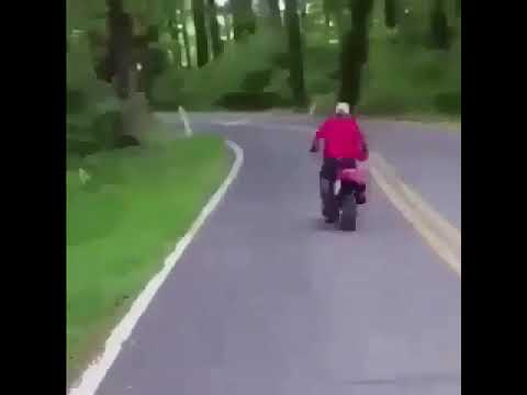 That motorcycle with GTA San Andreas theme song in the back meme