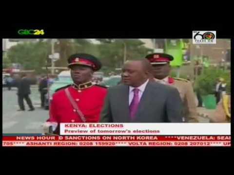 The Kenyan Election, 2017