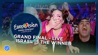 Netta From Israel Wins The 2018 Eurovision Song Contest