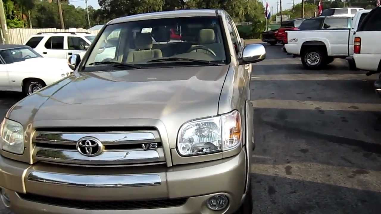 2005 toyota tundra sr5 double cab for sale by florida sport trucks youtube. Black Bedroom Furniture Sets. Home Design Ideas