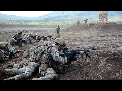 25ID Combined Arms Live Fire