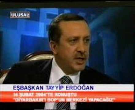 """Tayyip Erdoğan:""""Diyarbakır'ı BOP'un merkezi yapacağız."""""""