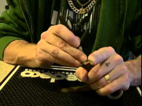 ALMONT REKEY  brass padlock from Raventattoo ™picked SPP
