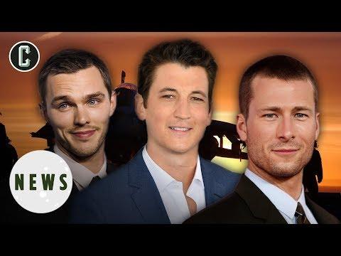 Top Gun 2 Testing Miles Teller, Nicholas Hoult as Goose's Son