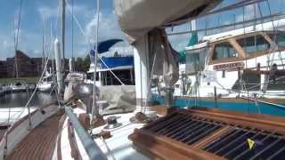 "SOLD!!! 1982 TaShing Baba 35 ""Santa Magdalena"" Sailboat for Sale at Little Yacht Sales, Kemah Texas"