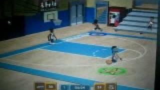 Austin playing Backyard Basketball 2007