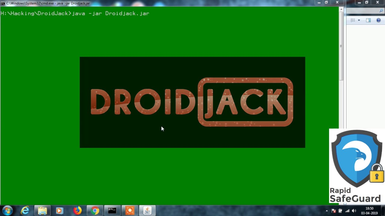How to generate android RAT - DroidJack ~ Easy Hack
