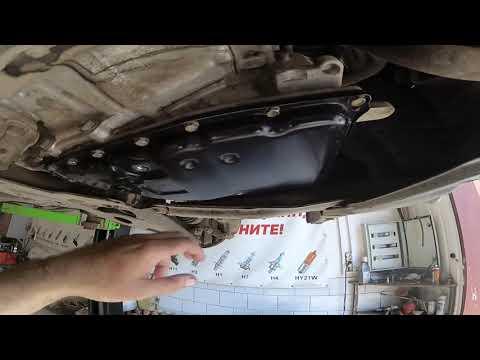 Mitsubishi Outlander замена жидкости в вариаторе.